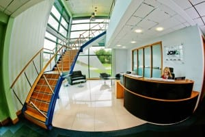 JCW Acoustic Flooring Reception - Background Image