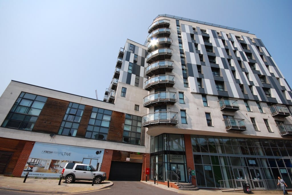 Student Accommodation with JCW80T Acoustic Battens Installed