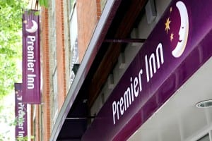Premier Inn Hotel, One of JCW Acoustic Flooring Projects