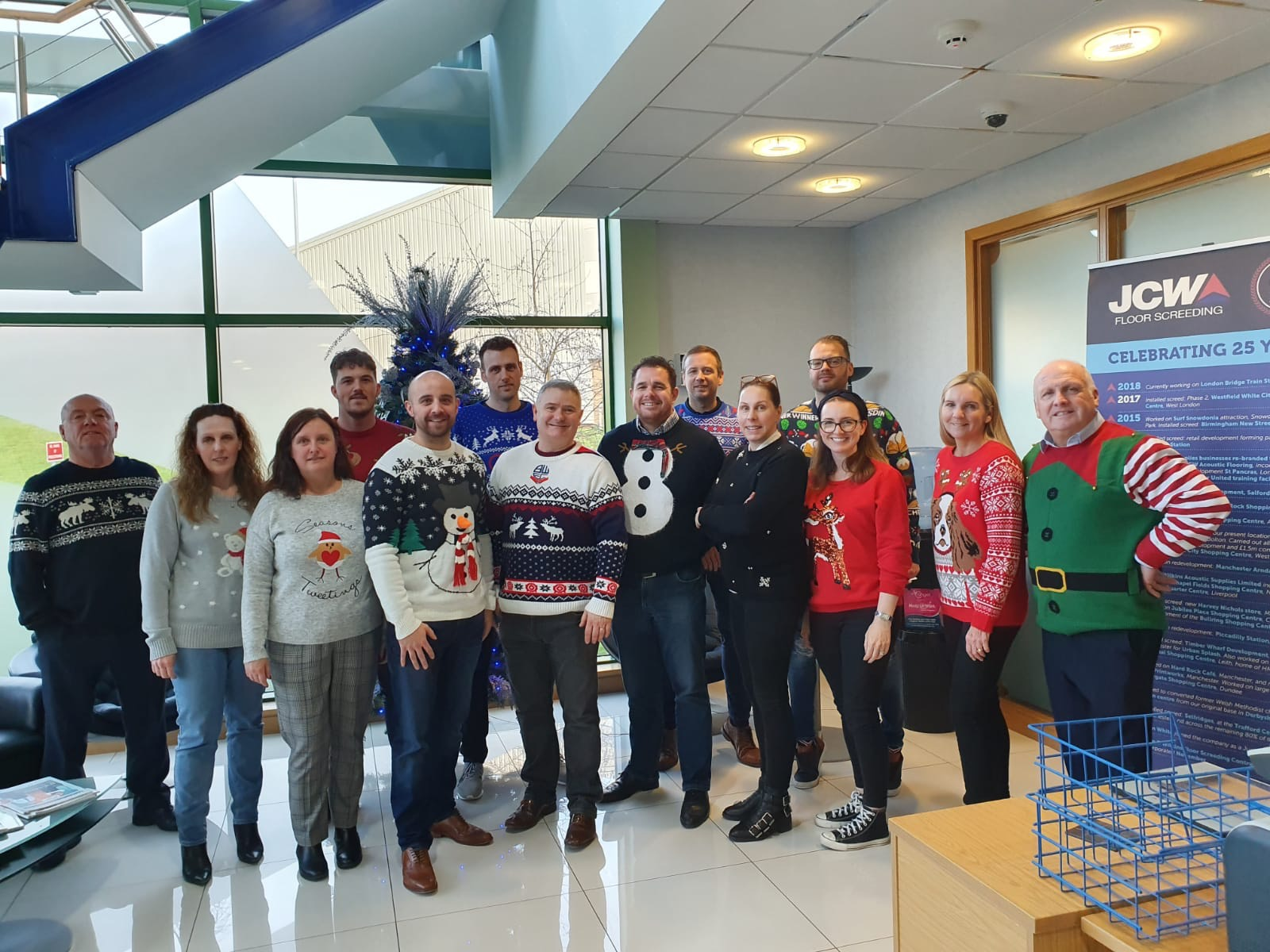 JCW Christmas Jumper Day 2019